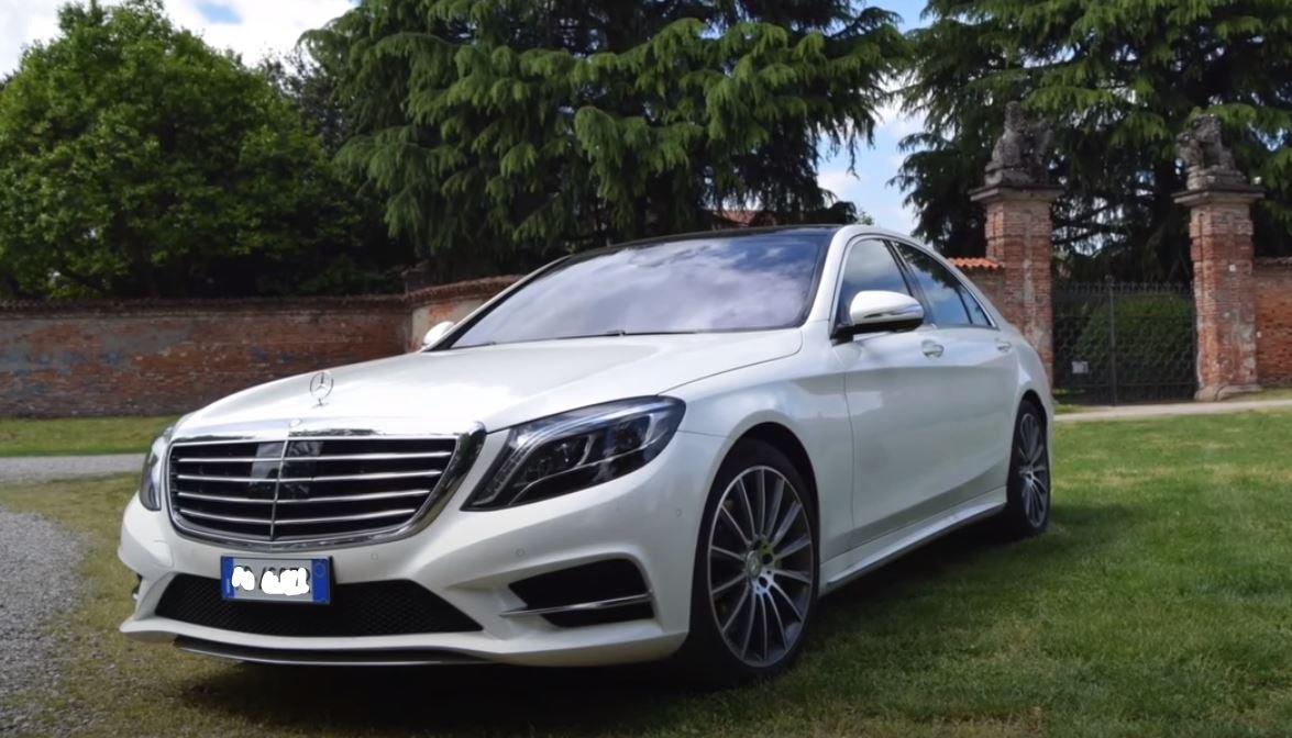 Mercedes S 350 d premium lunga per servizi NCC